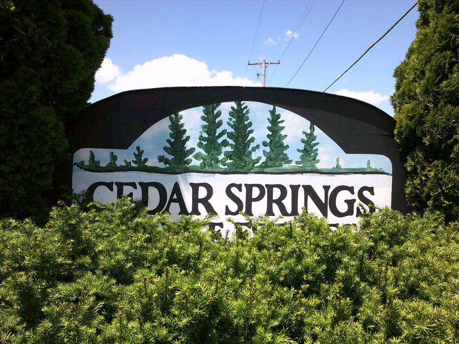Mobile Homes For Lease and For Sale - Cedar Springs Mobile Estates