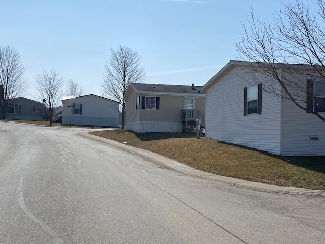 Housing Rows mobile home