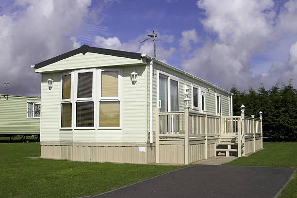A static caravan holiday home