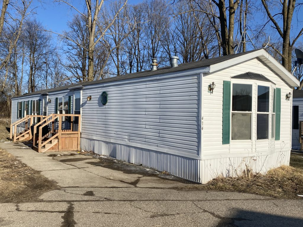 old manufactured home
