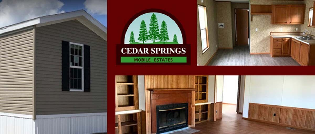 Cedar Springs Mobile Estates Collage