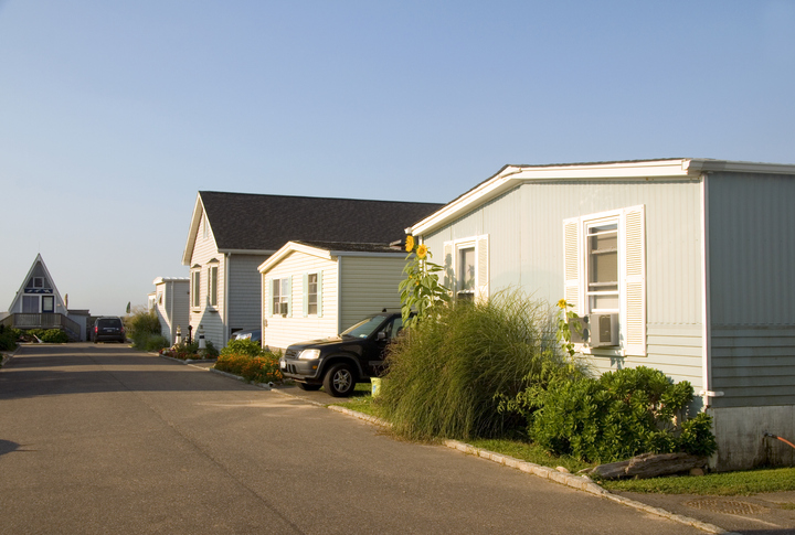 Mobile and manufactured homes